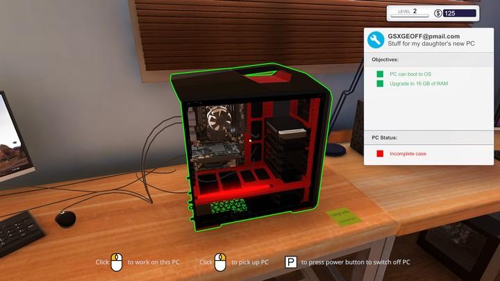 Giocare a 'PC Building Simulator' è molto più divertente che assemblare un vero computer
