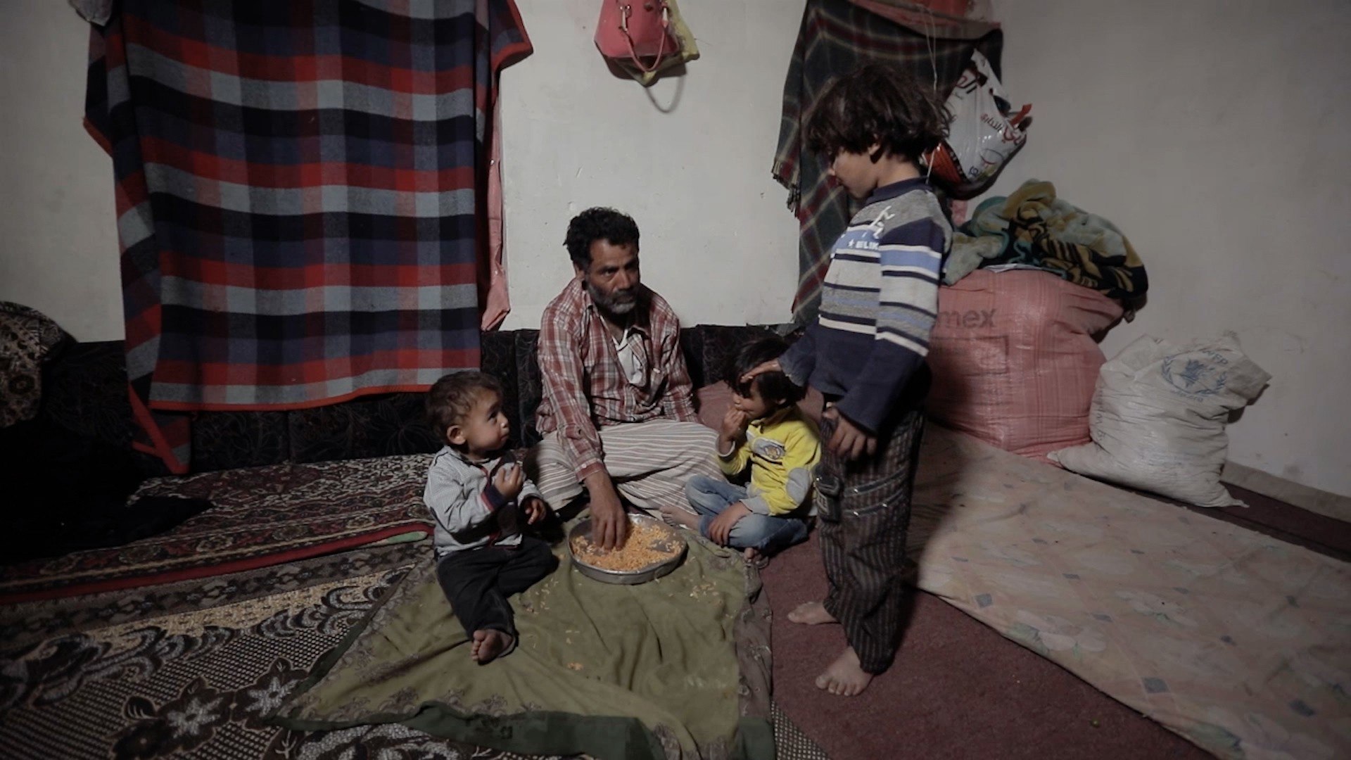 This Yemeni family still lives in the ruins of their home 3 years after it was destroyed by an airstrike