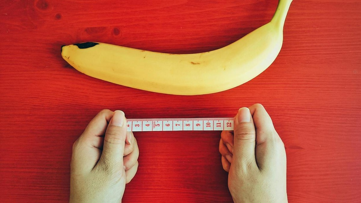 Correct way to measure penis size