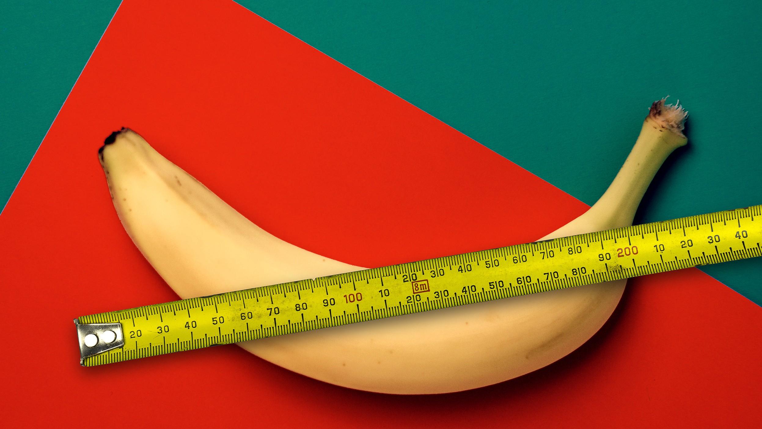 Sie Penis messen Ihren Wie Hier findest