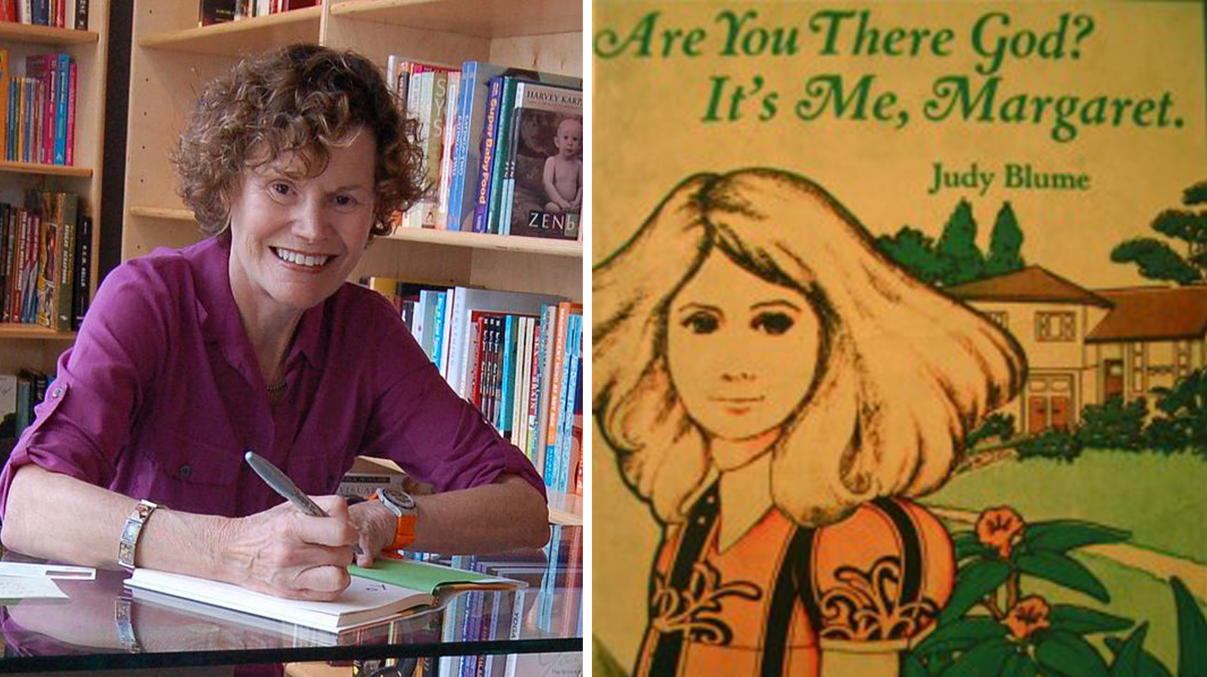 judy blume taught a generation of young girls to be feminists broadly