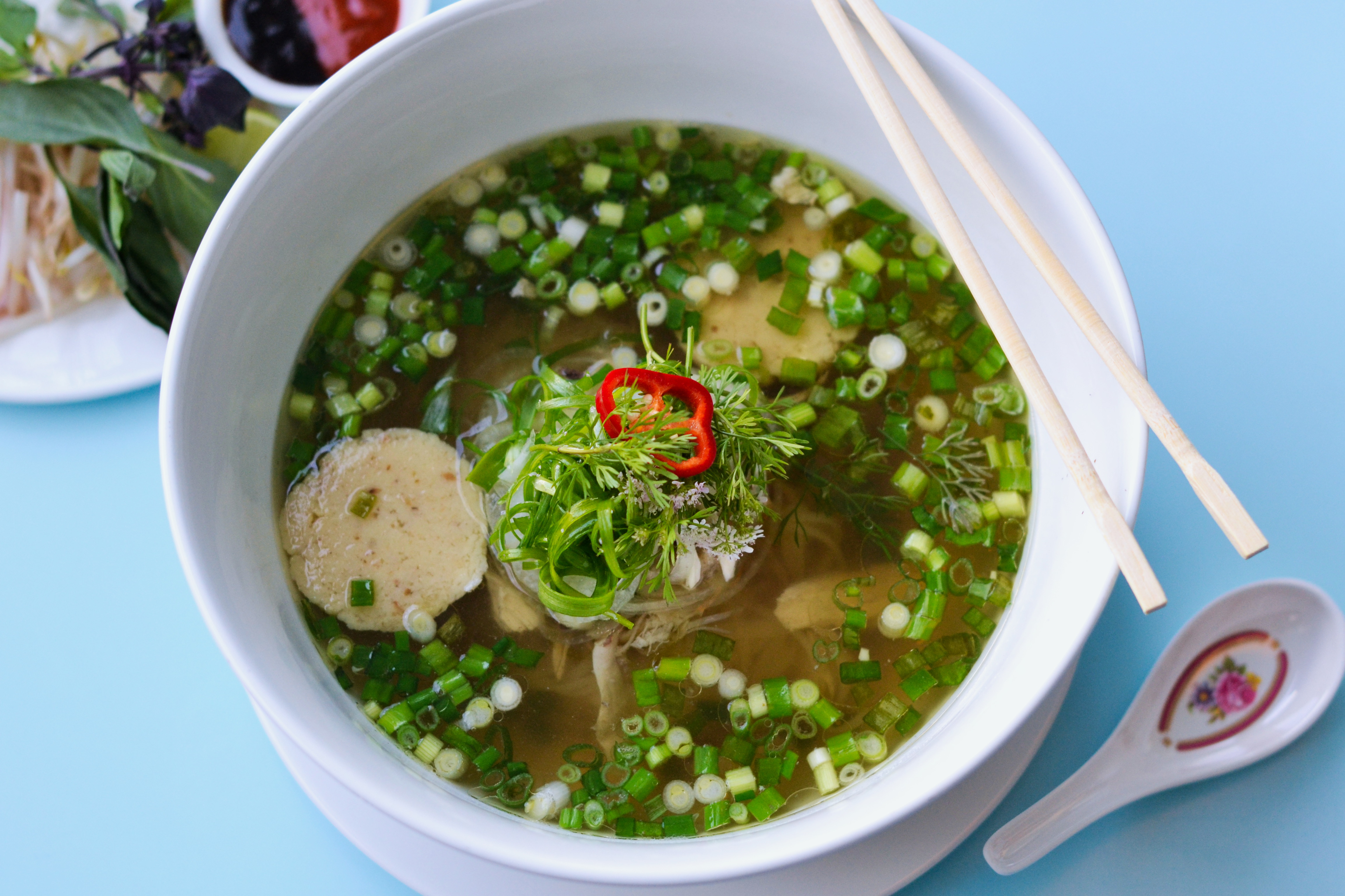 Matzo Ball Pho Is The Most LA Dish of All Time