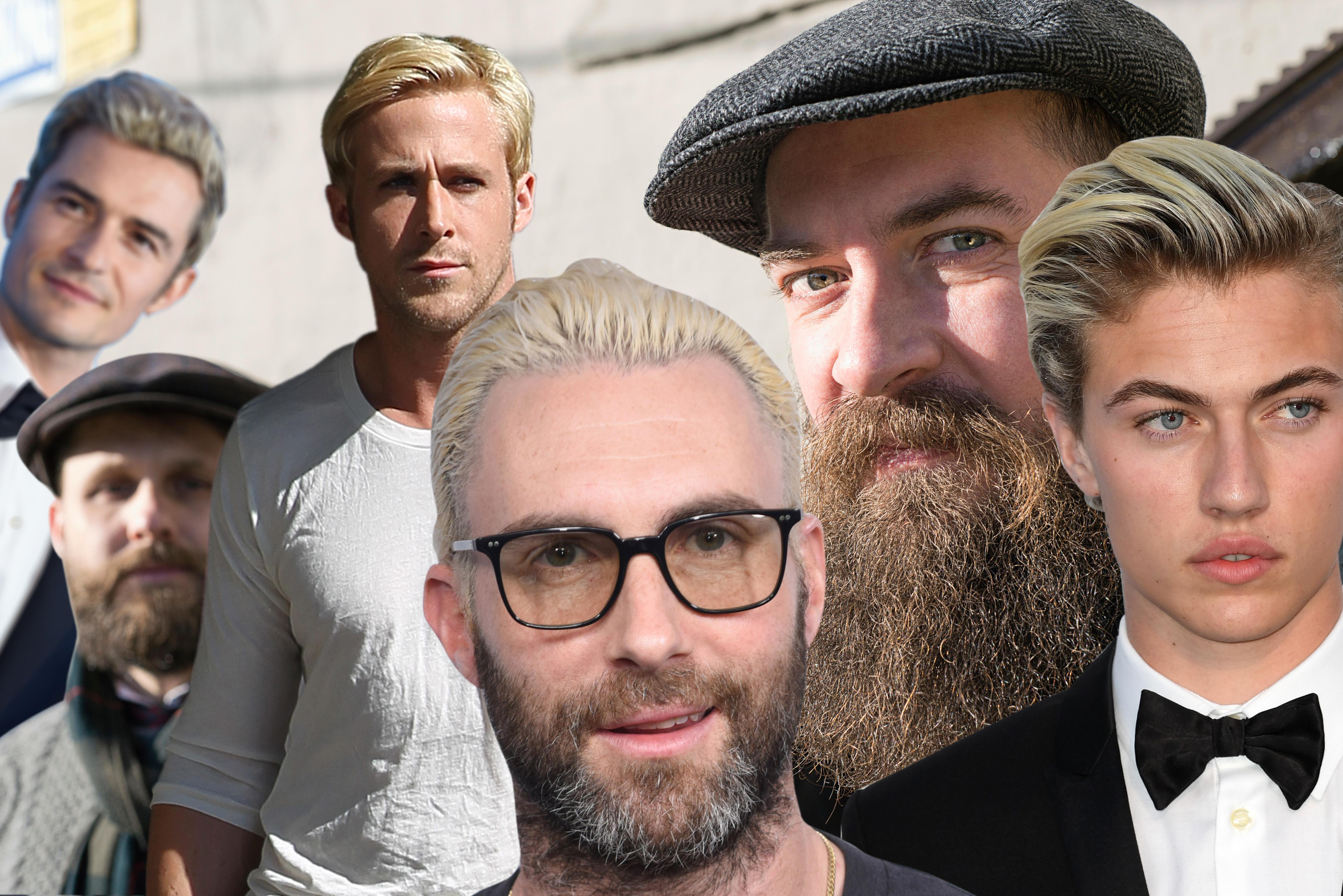 Men Bleaching Their Hair Is The New Beard Vice
