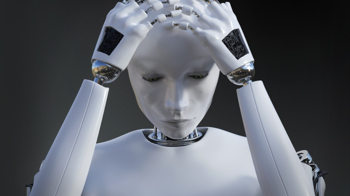If AI Thinks Like a Human It May Get Depressed