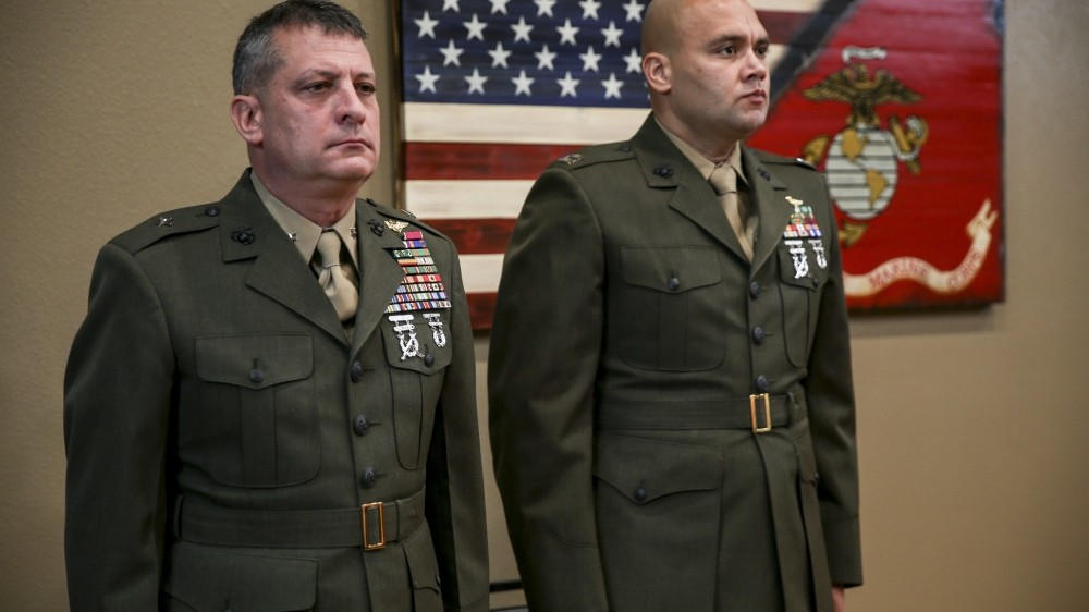 u s marine corps general suspended after calling sexual harassment