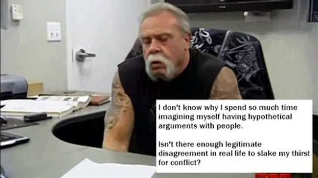 the angry american chopper argument meme has gone meta vice