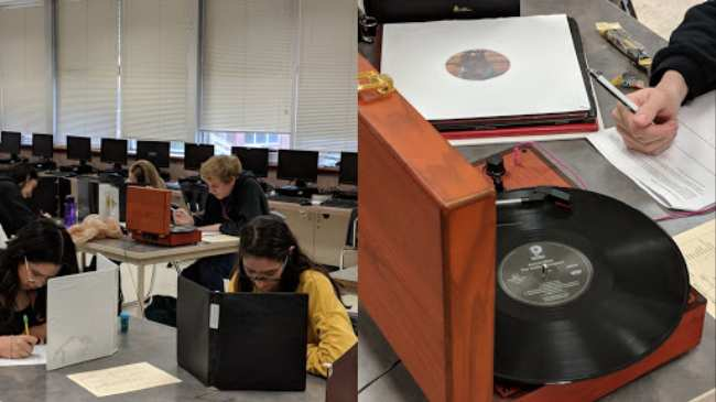 this kid took a record player to his midterm exam - i-D