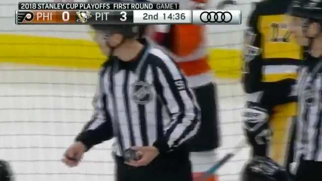 What the Hell Happened to the Puck When it Hit Kris Letang's