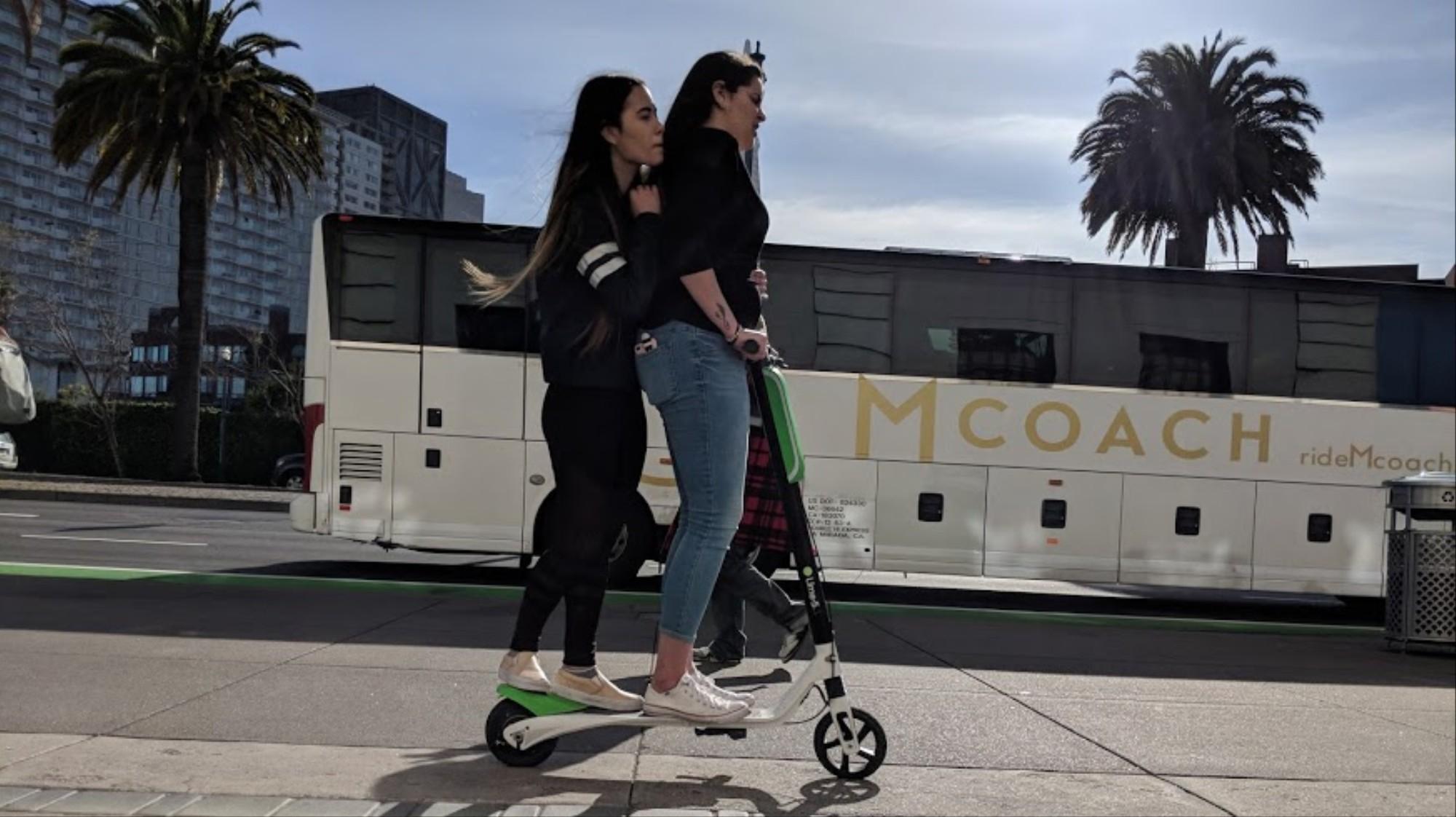 San Francisco's Bizarre Scooter War Shows How Tech Companies