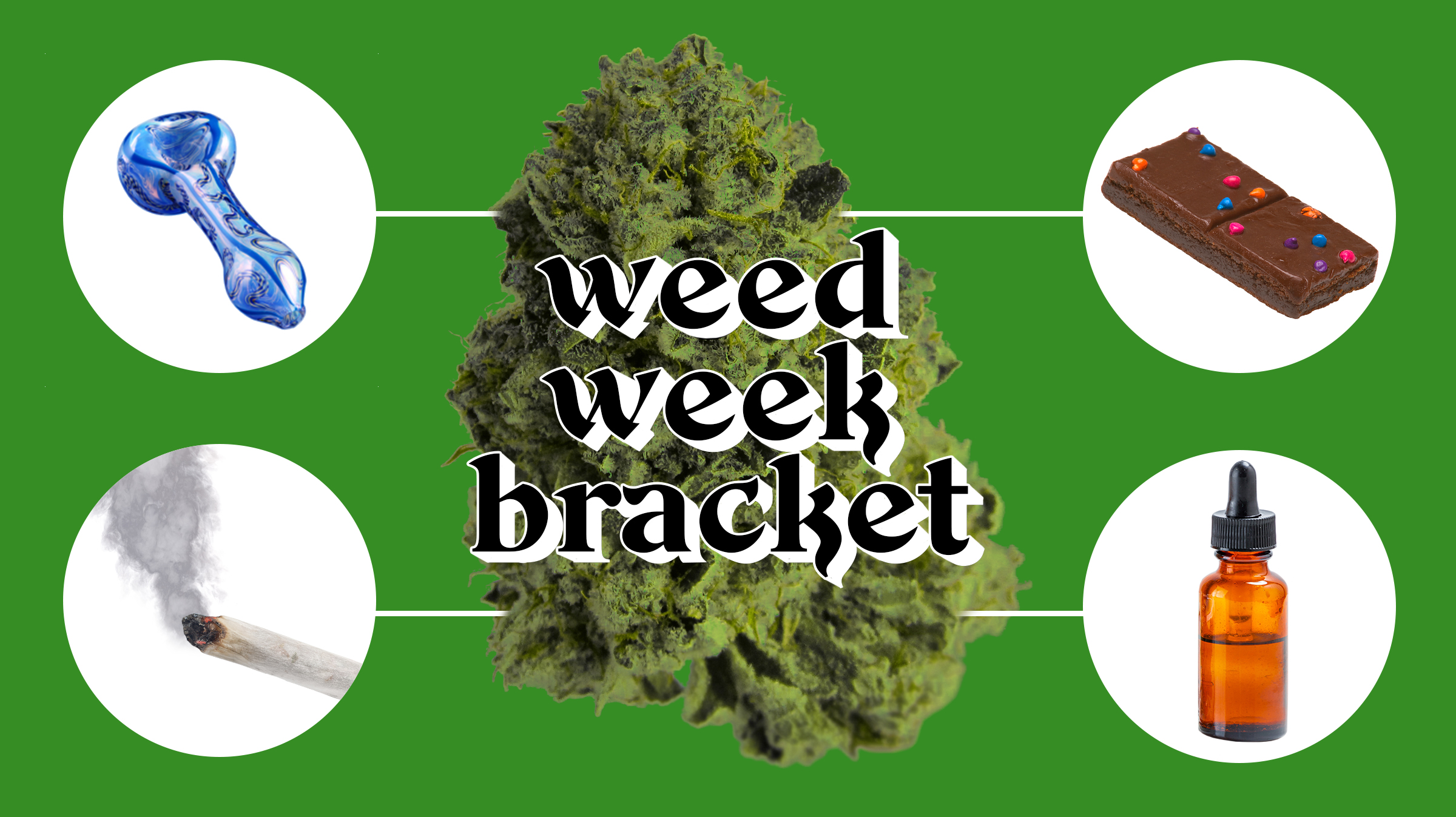 The Weed Week Bracket: What's the Best Way to Get High? - VICE