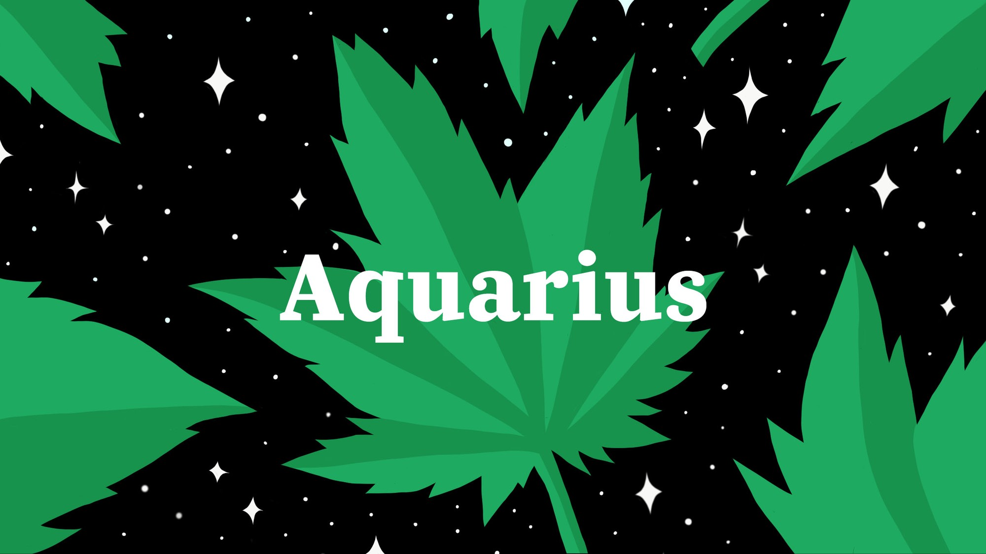 Smoking Weed with an Aquarius is Like Being Abducted by