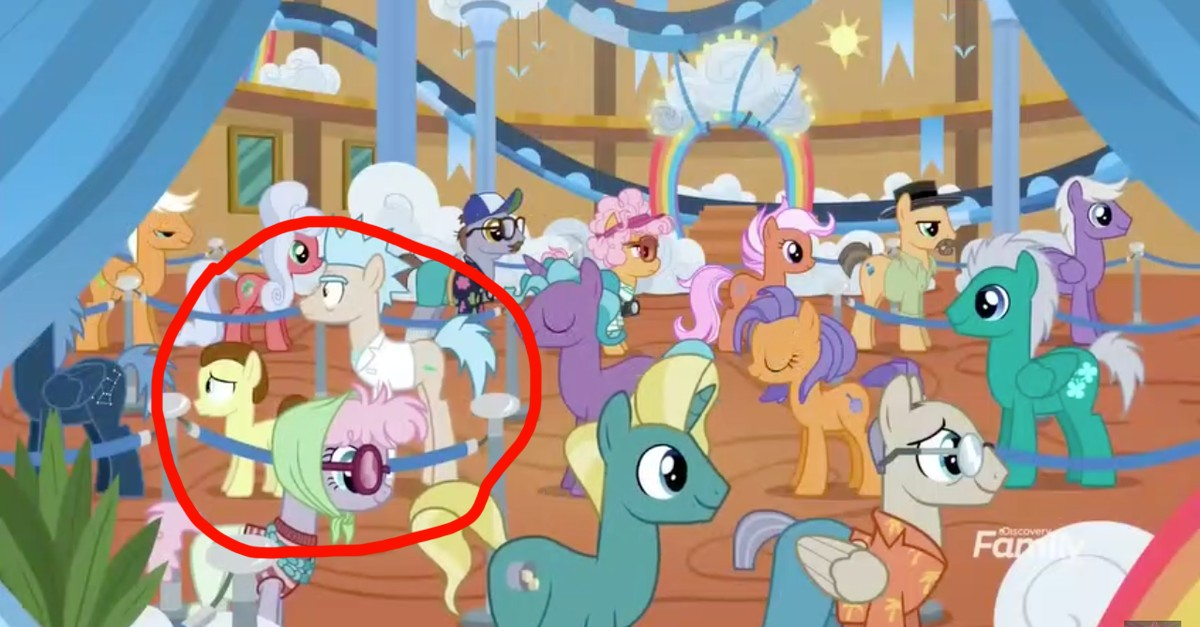 Rick And Morty Made A Bizarre Appearance On My Little Pony - Vice-9398