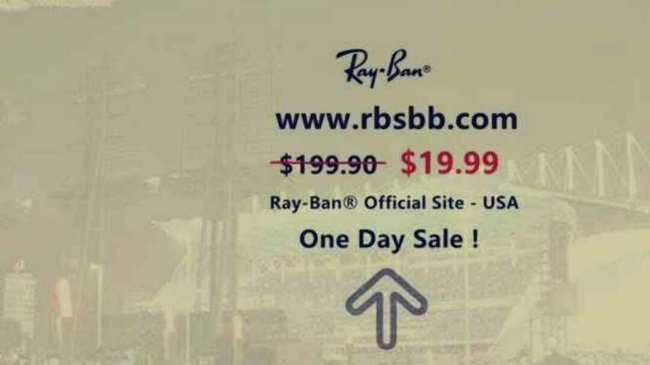 ray ban one day sale instagram