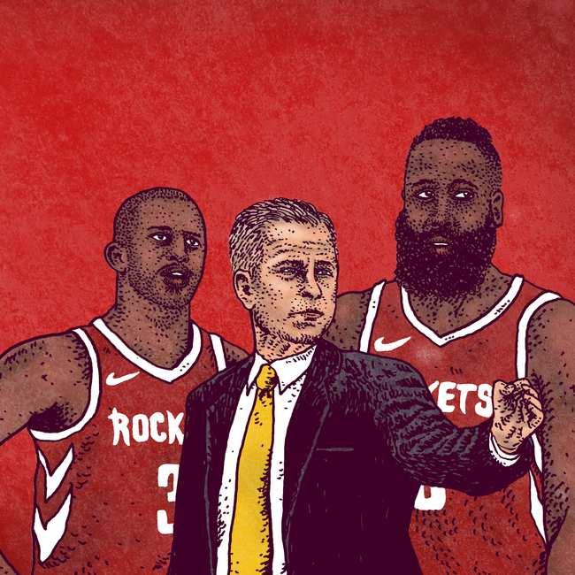 f1cc849e5d4f Meet the Defensive Genius Behind the Rockets  Championship Push - VICE