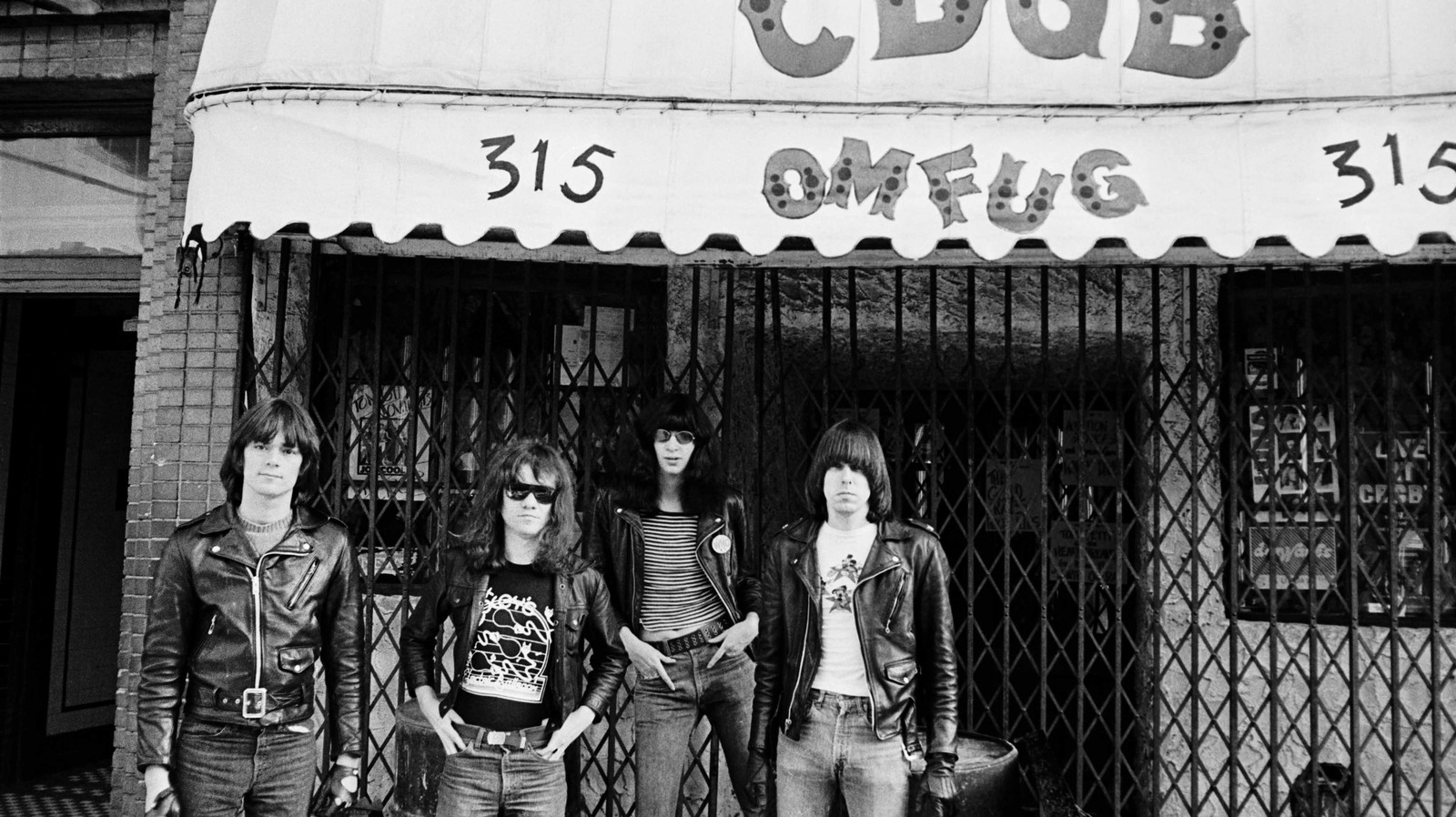 Intimate Photos of the Ramones During Punk's Early Days