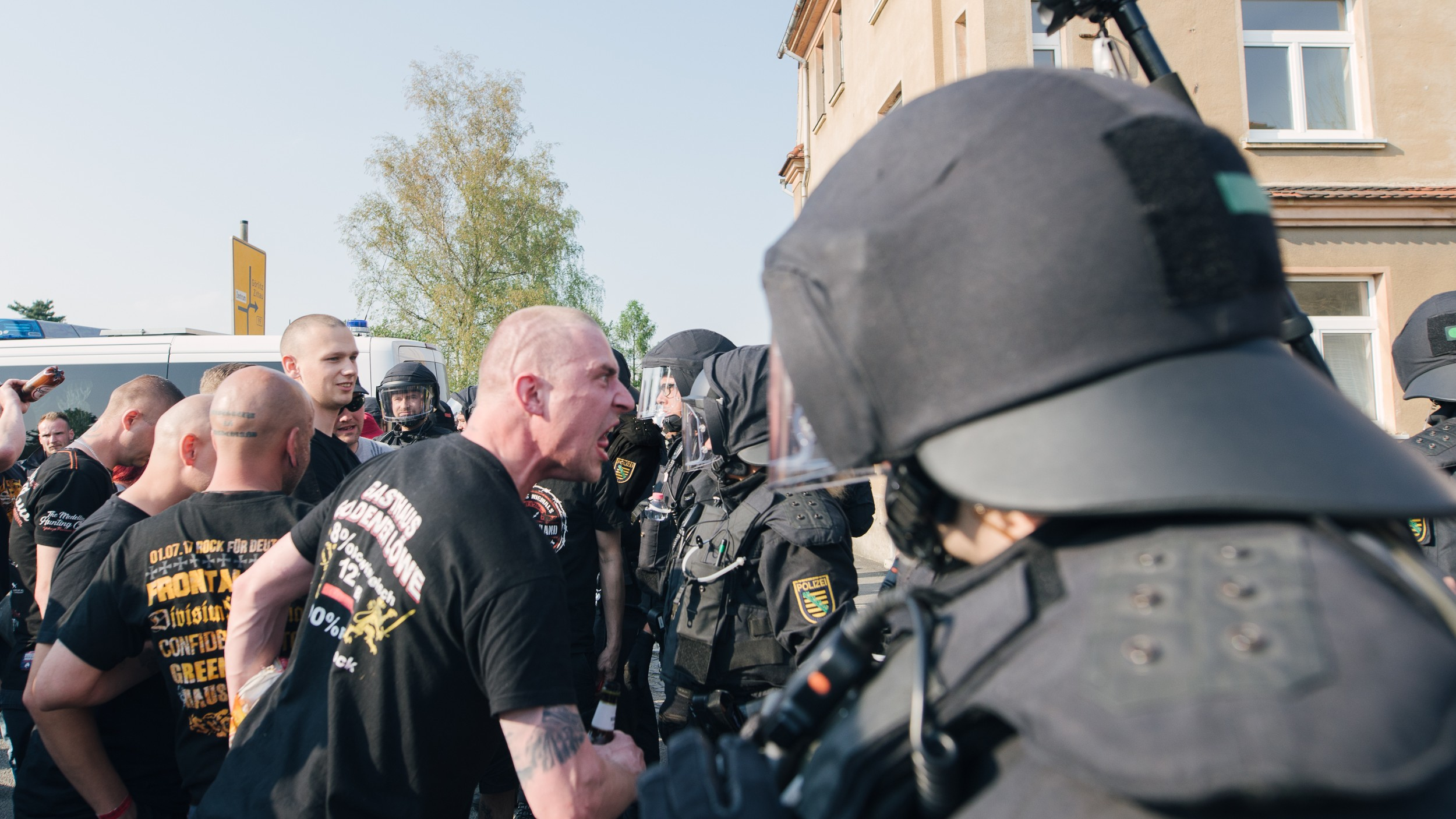 German neo-Nazis are trying to go mainstream with MMA and music festivals