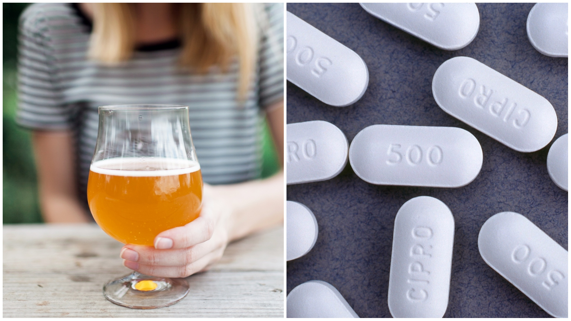 Can i drink beer with amoxicillin