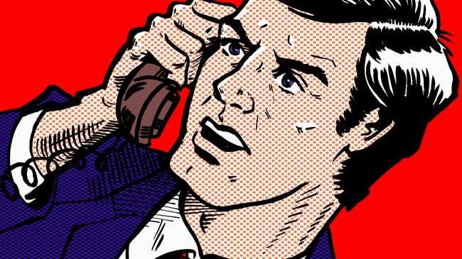 Online dating, når du skal tale på telefon