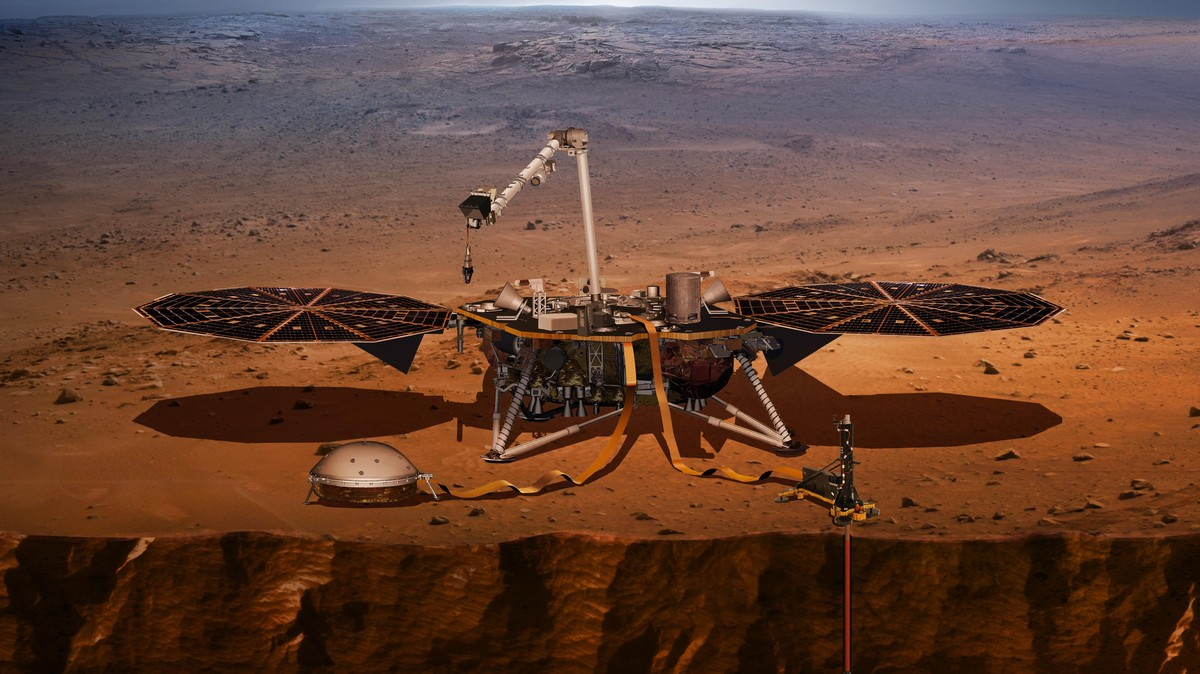 NASA's Launching a Lander That Will Dig on Mars