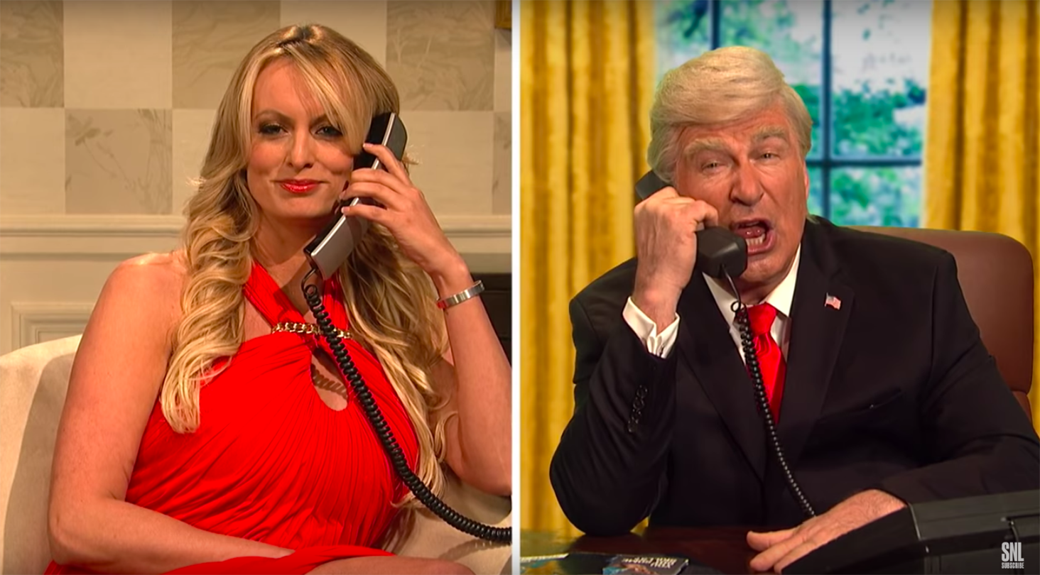 Stormy Daniels Made a Surprise Appearance on SNL and It Was Juicy AF