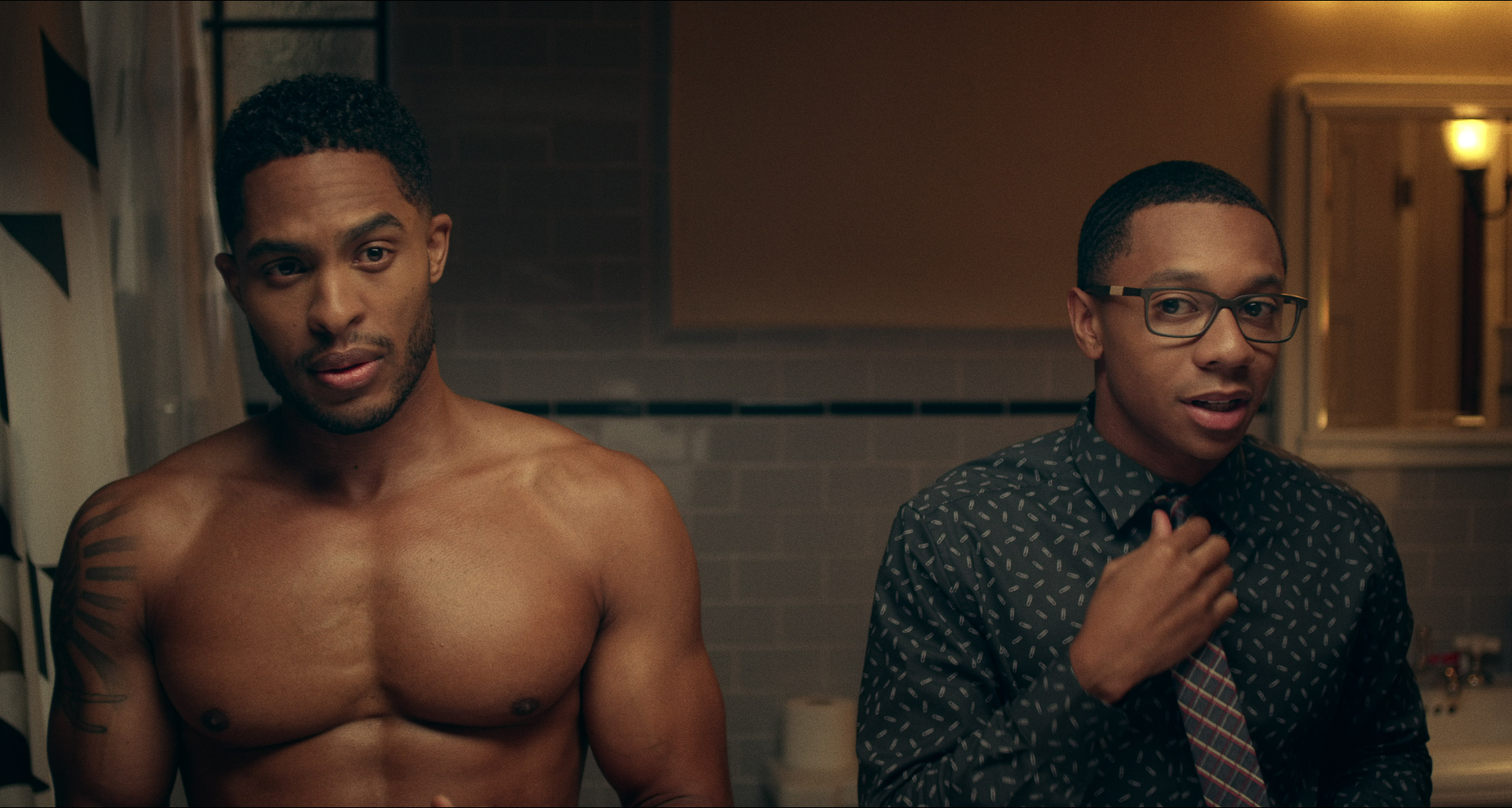 Gay black on white video