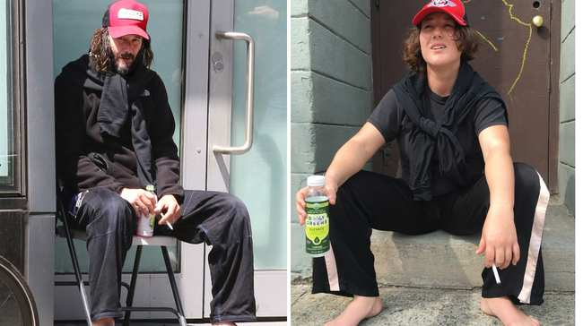 8fb15d2e I Dressed Like Keanu Reeves for a Week and Became a Living Meme - VICE