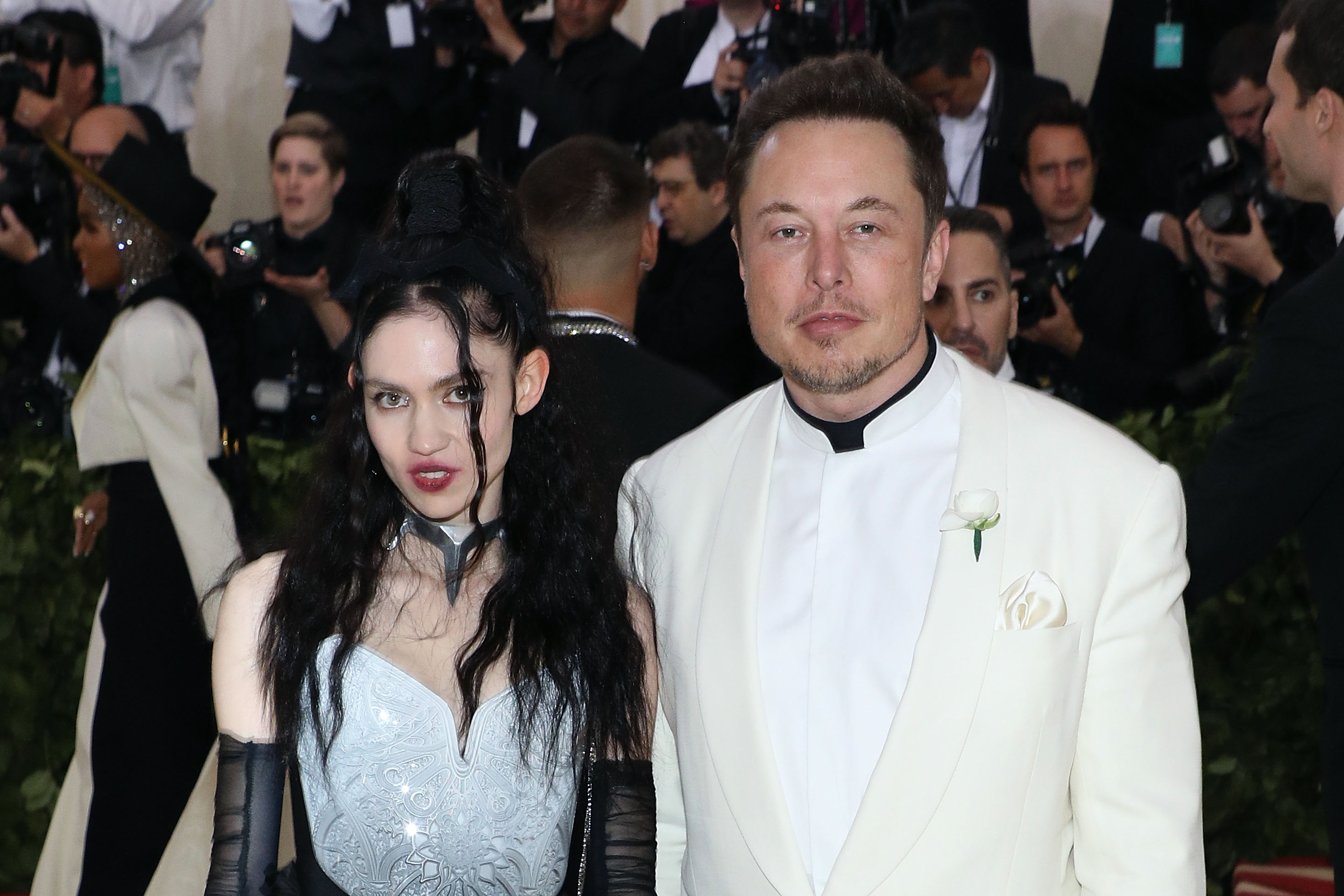 The Six Stages of Learning Grimes Is Dating Elon Musk - VICE