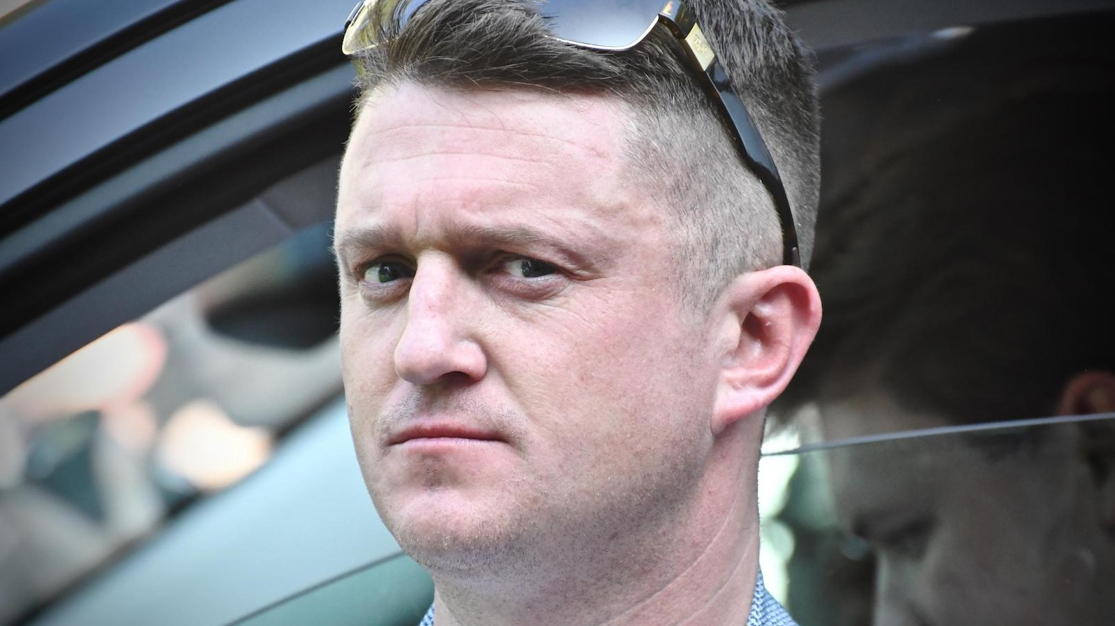 Tommy Robinson At The Day For Freedom Photo Incmonocle Alamy Stock Photo