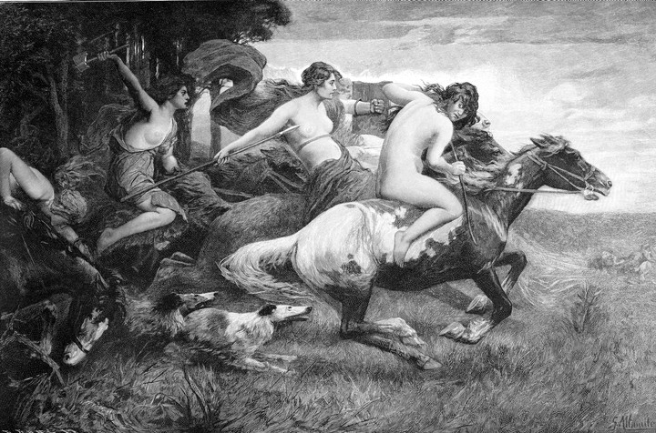 The Amazons Were Based on Real-Life Women Warriors Who Were Cool as Hell