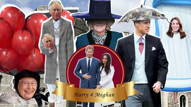 tag yourself! what your choice of royal wedding hat says about you