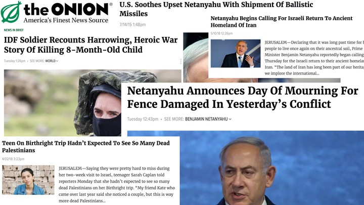 The Onion's Brutal Israel Commentary Goes Beyond Satire