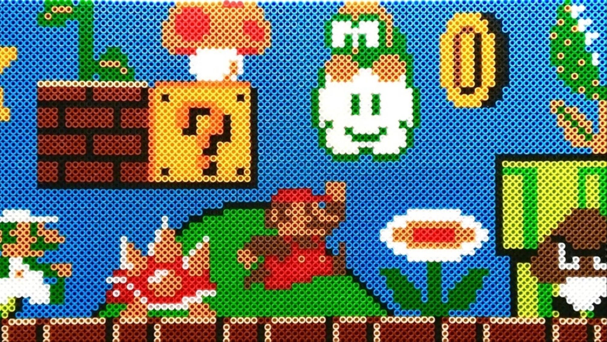 Inside the Pixelated World of Perler Bead Art - VICE