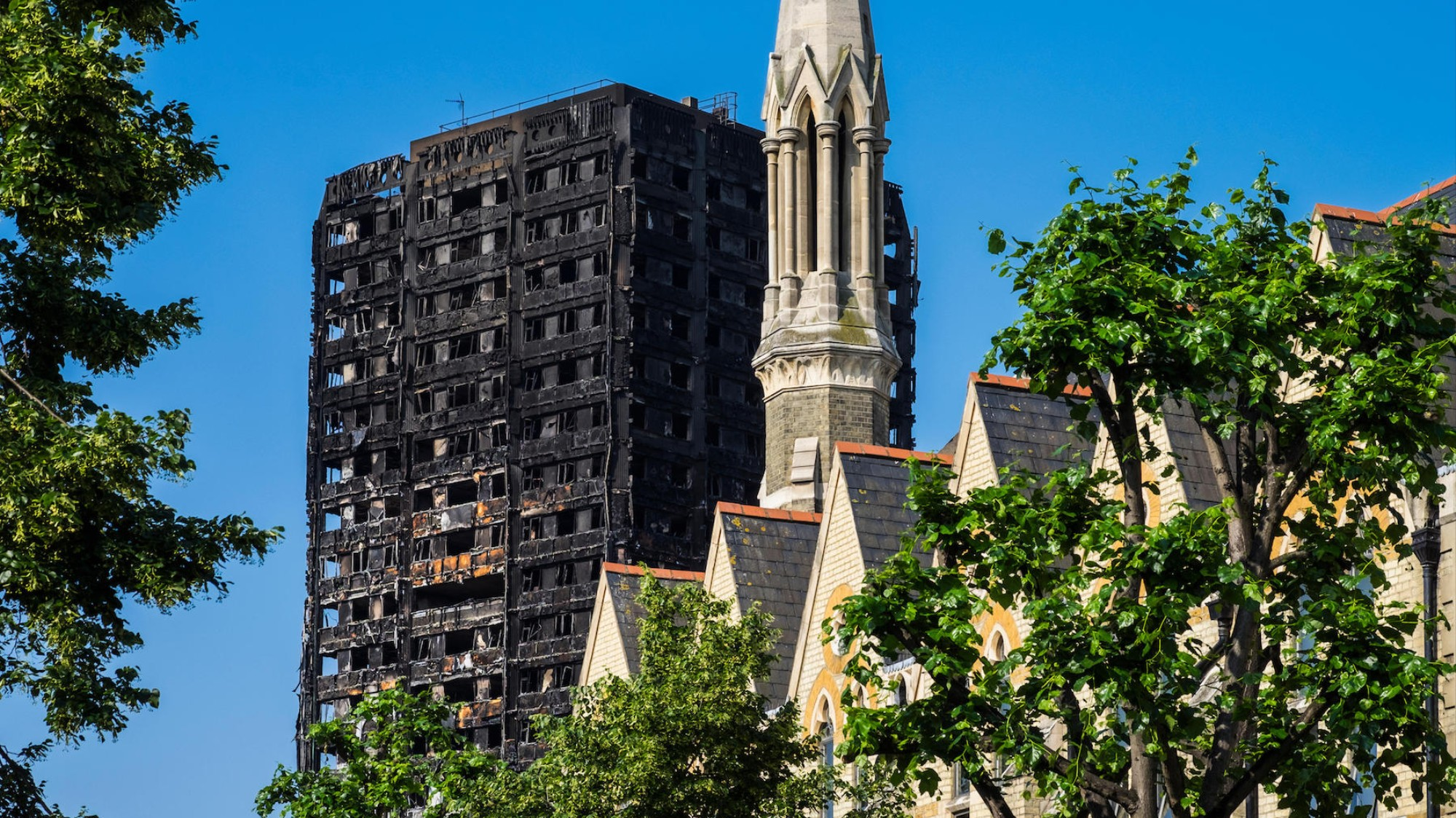 Revealed: Nearly Half of All Tower Blocks Have Failed Fire