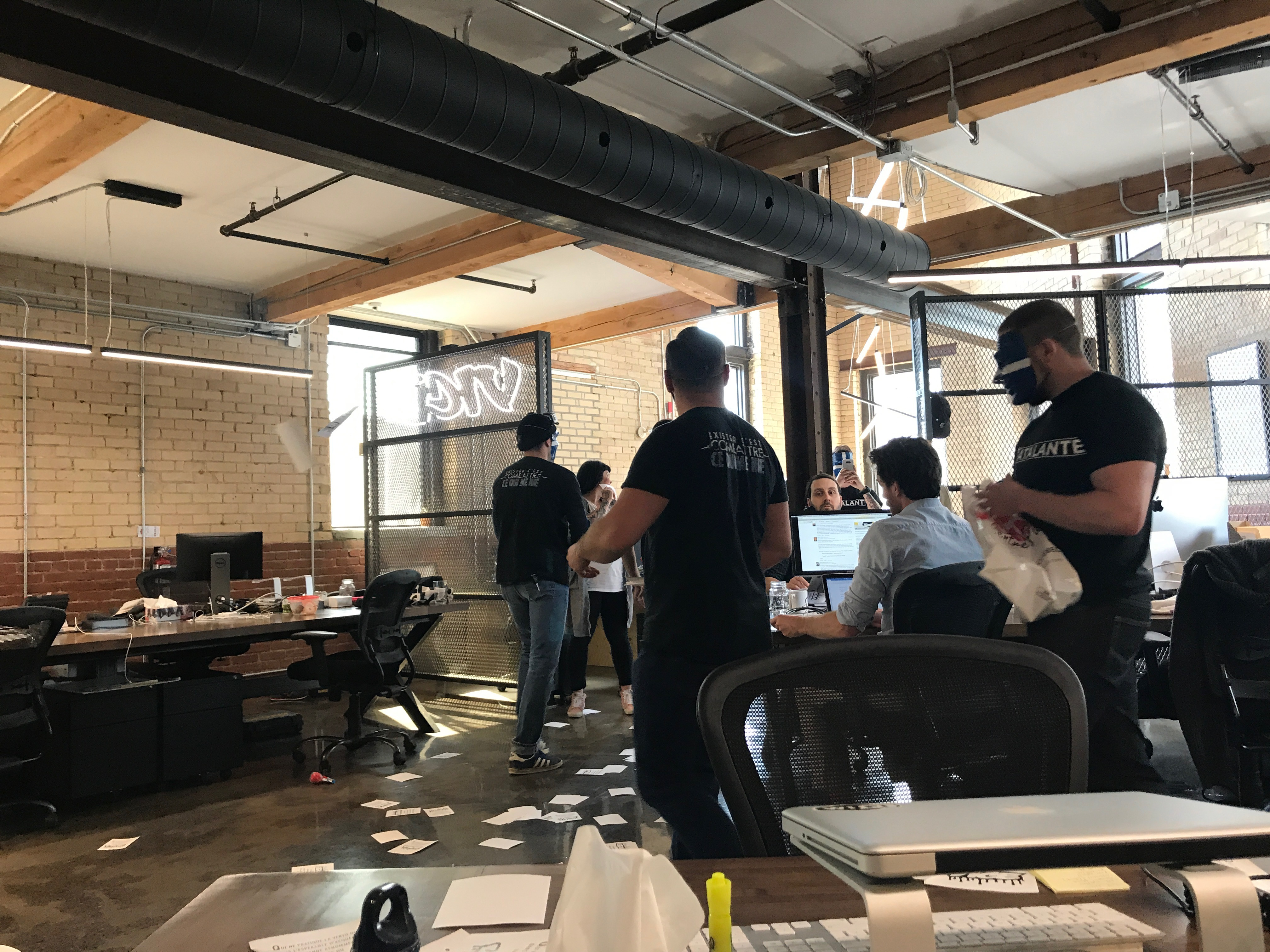 Far right group atalante visited vice offices in montreal vice