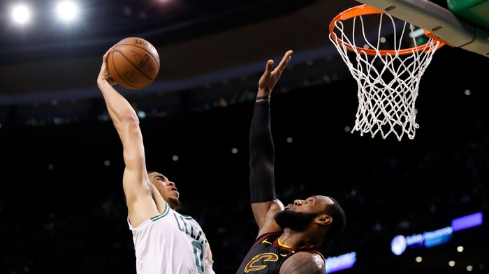 NBA Dunk of the Week: Jayson Tatum, Look What You Did