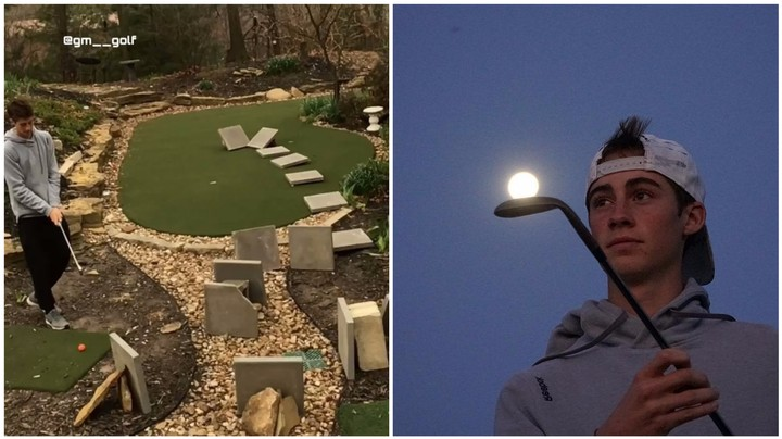 Please Enjoy This Kid's Ridiculously Complicated Golf Trick Shot Videos