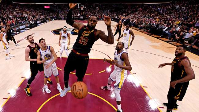 e2bf795f647 NBA Dunk of the Week  LeBron Goddamned James