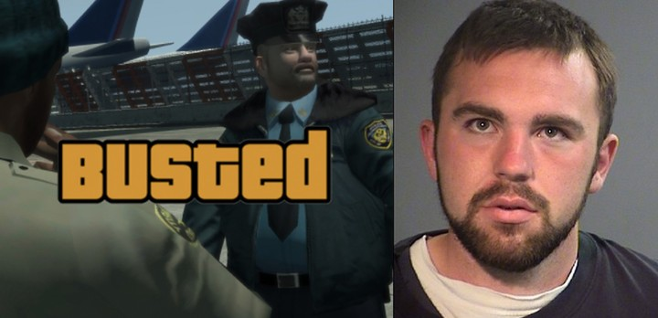 Man on LSD Caught After Stolen Car Chase Said He Thought He Was Playing 'GTA'