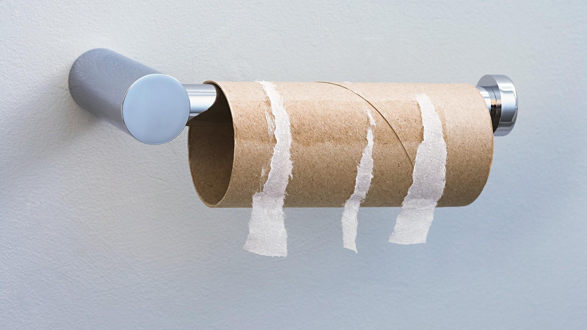 Resultado de imagem para acabou papel higienico