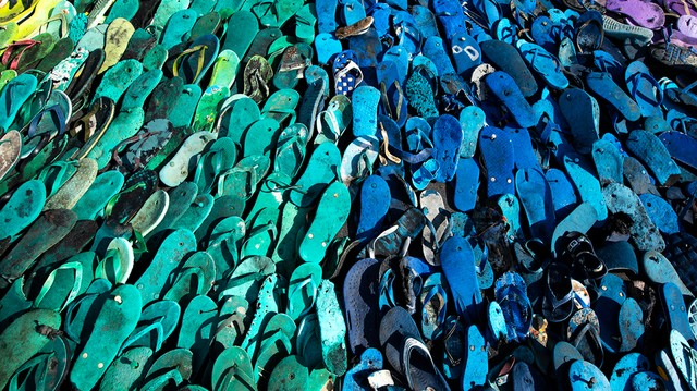 Creating Art Out of an Ocean of Trash In Bali