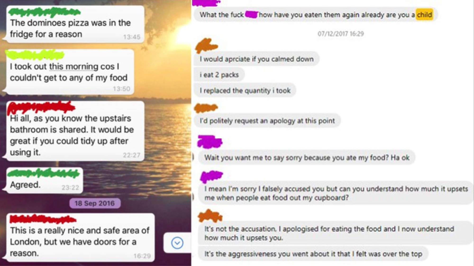 We Analyzed Passive-Aggressive Roommate Group Chats - VICE