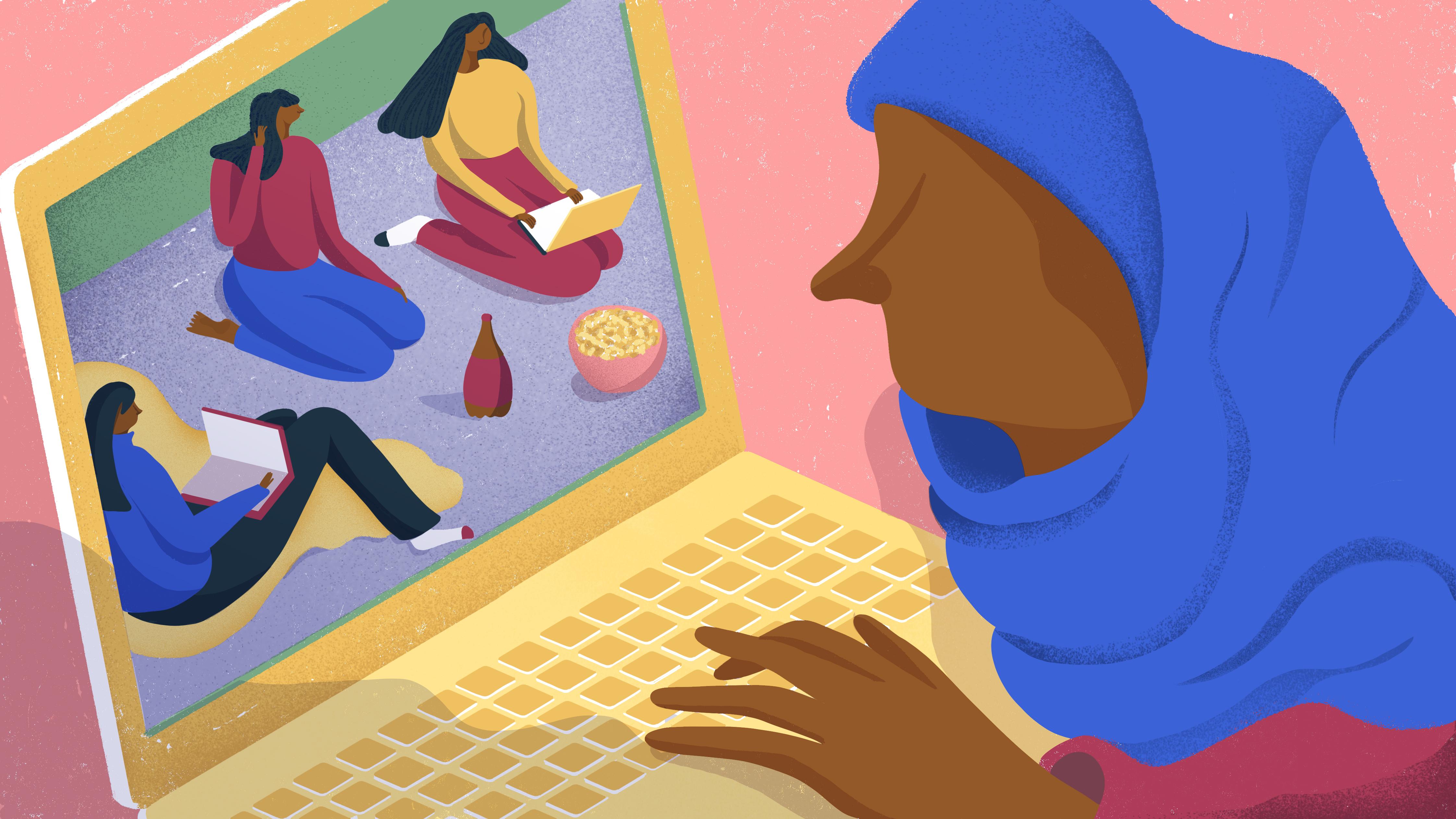 0bfa6d92c46 Bag lukkede profiler taler kvinder i hijab åbent om sex, politik og stoffer  - VICE