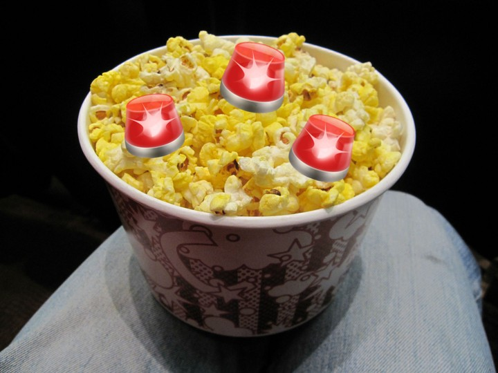 Wife Salts Movie Popcorn, Husband Promptly Ends Marriage