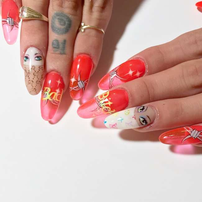 These Manicures Turn 2000s Kitsch Into Exquisite Fine Art I D