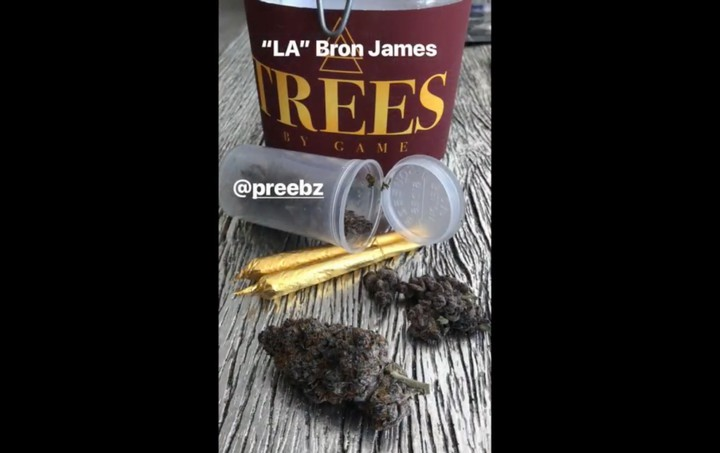 Rapper The Game Trying to Lure LeBron James to the Lakers with Weed