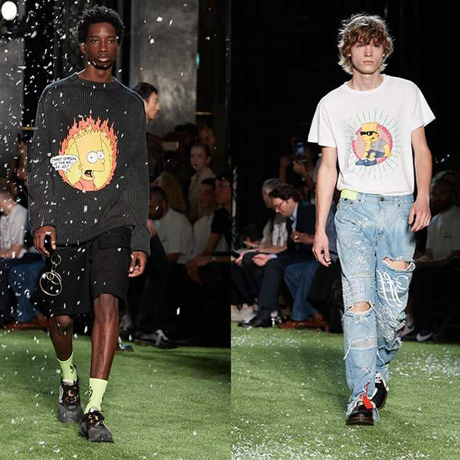 The Star Of Virgil Abloh S Latest Off White Collection Is Bart
