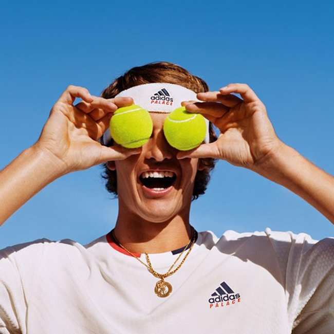 77b44dc4 palace just dropped a tennis-inspired collection with adidas in time for  wimbledon. '