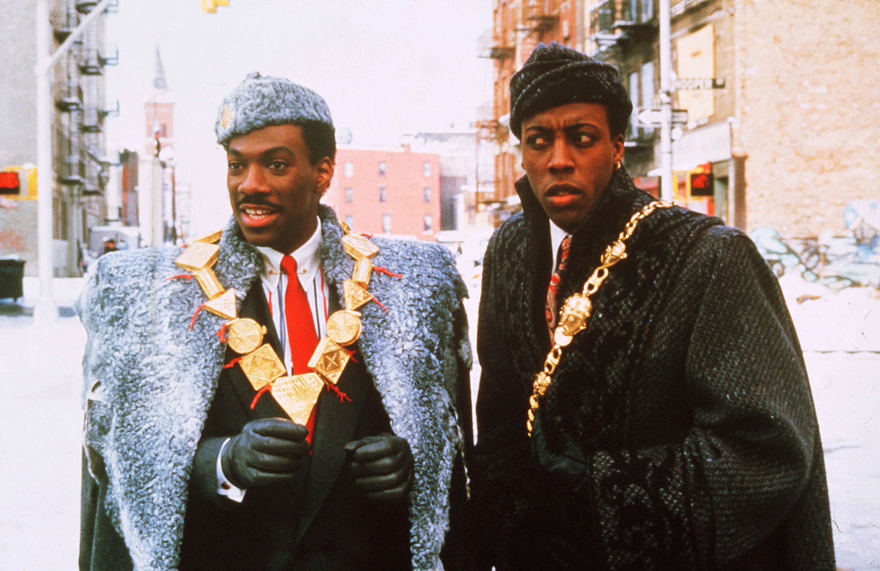 coming to america characters