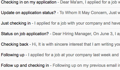 Your Follow Up Emails To The Hiring Manager Won T Get You The Job Free