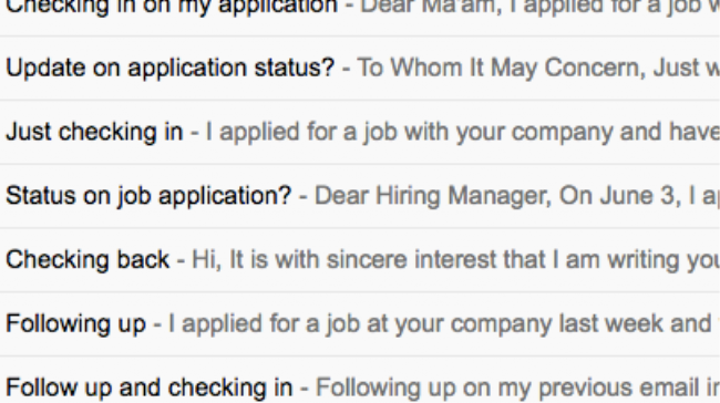 Your Follow Up Emails To The Hiring Manager Wont Get You Job